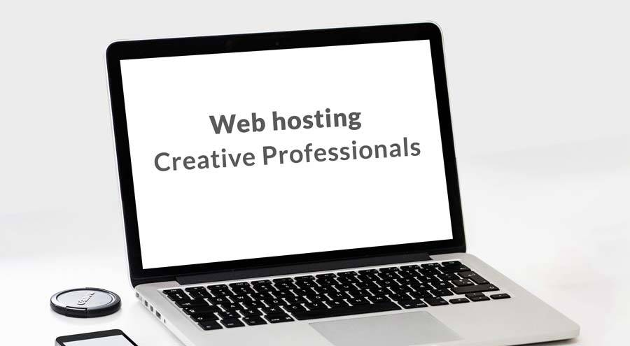 Web hosting for creative professionals