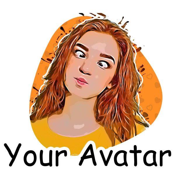your avatar sticker