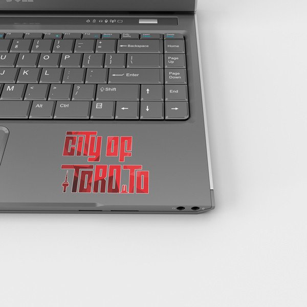 toronto new logo sticker