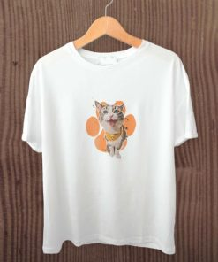 T shirt with pet avatar printed